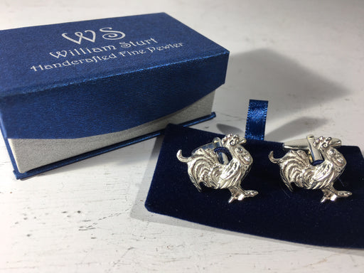 Cockerel Cuff Links