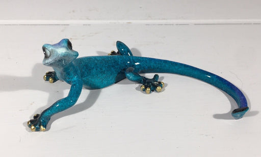 Blue Gecko Wall Decor - Large