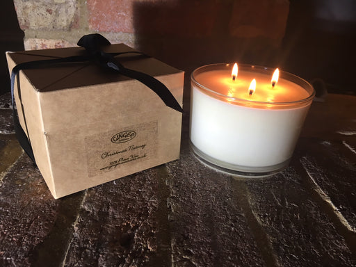Scented Candle 3 Wick - Christmas - Christmas Nutmeg