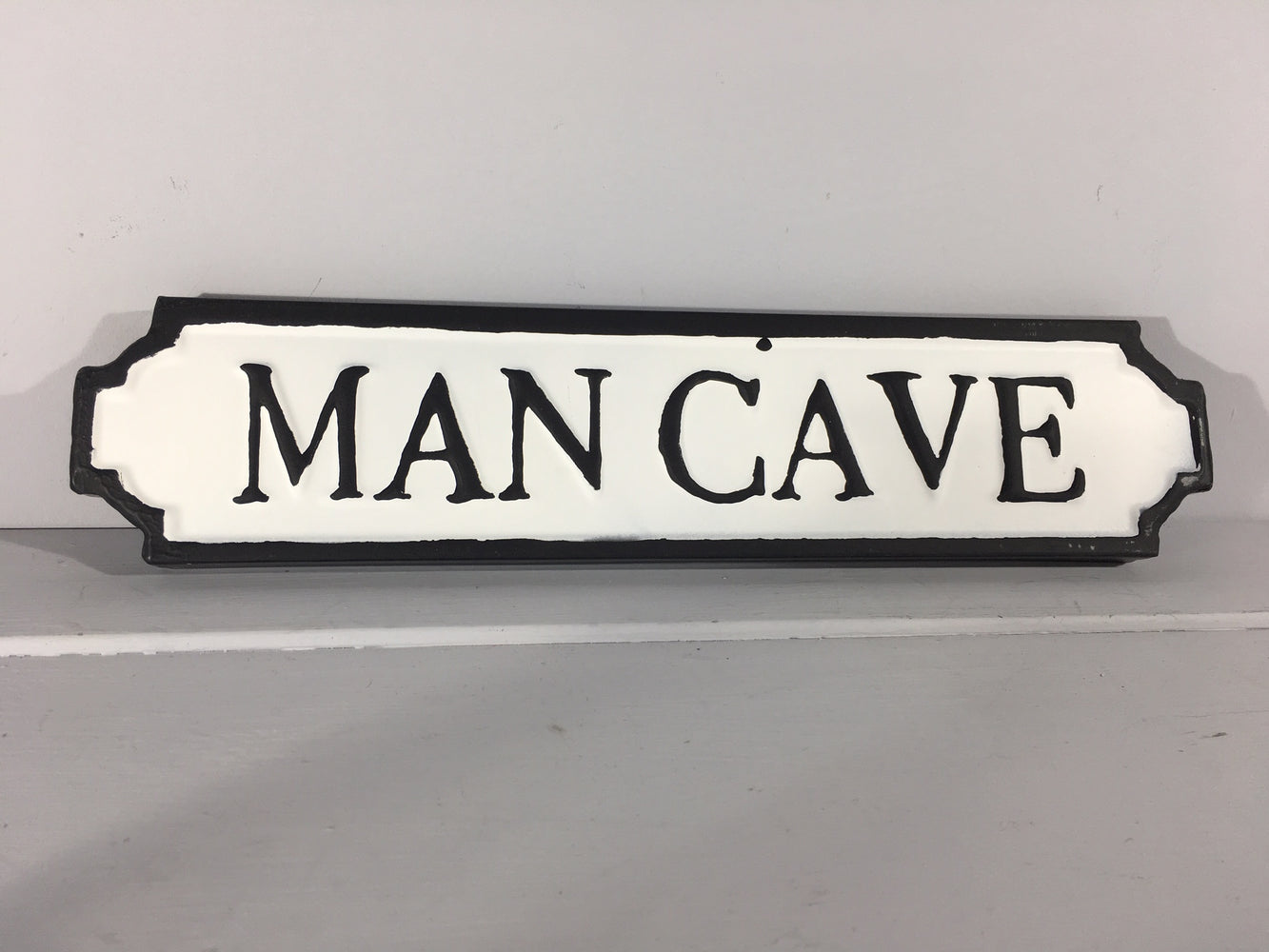 Man Cave - Metal Road Sign