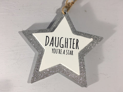 Sparkle Star - Daughter you're a Star