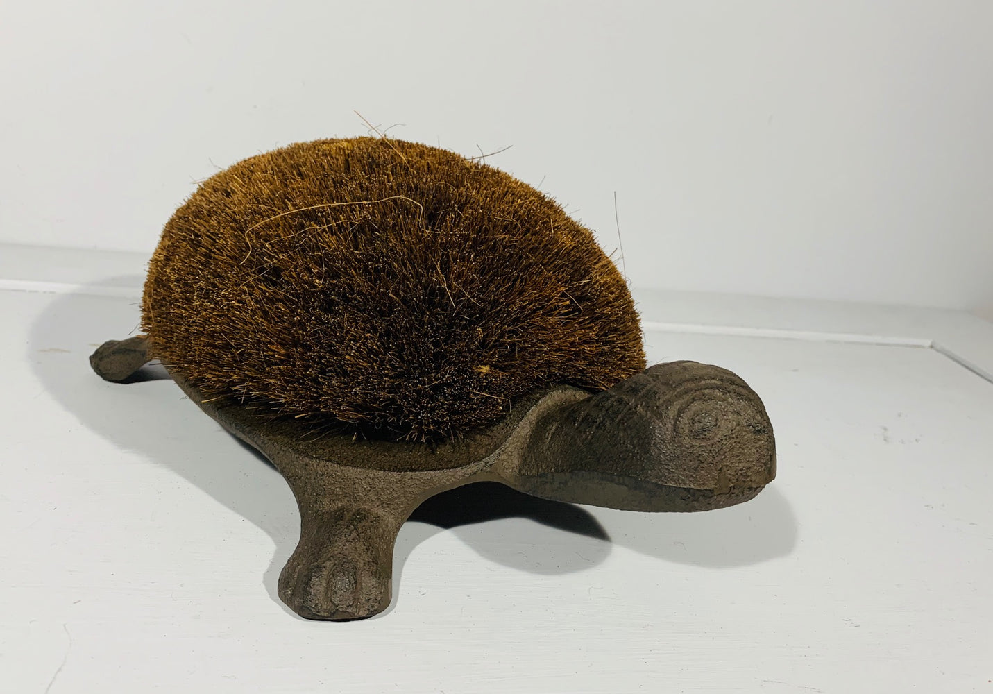 Tortoise Boot Brush