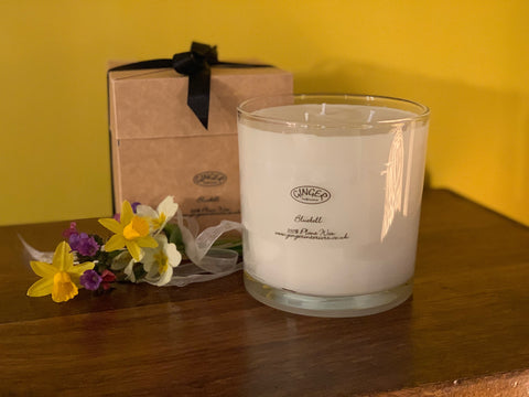 Large Scented Candle 3 Wick - Flowers - Bluebell