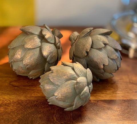 Antique Bronze Artichoke