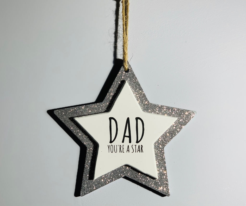 Sparkle Star - Dad you're a Star