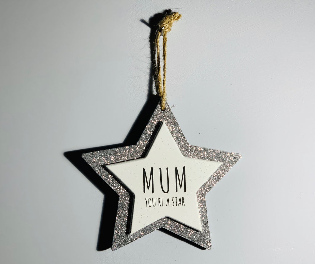 Sparkle Star - Mum you're a Star