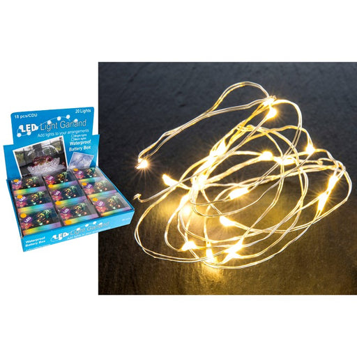 Firefly String Lights - LED Battery Operated String - Warm
