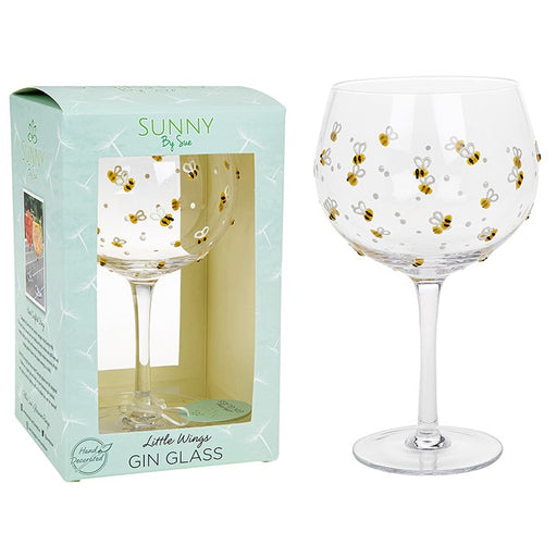 Bumble Bee Gin Goblet - Sunny By Sue