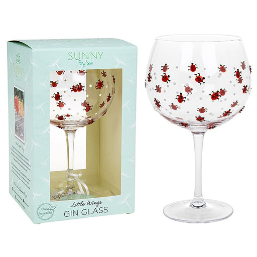 Ladybird Gin Goblet - Sunny By Sue