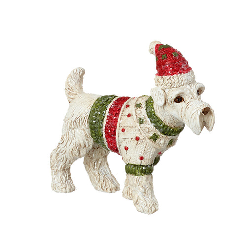 Dog in Christmas Jumper Christmas Decoration