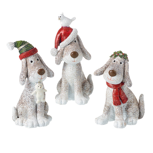 Christmas Dogs Festive Decoration