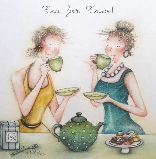 Tea Card For Her - Tea For Two!