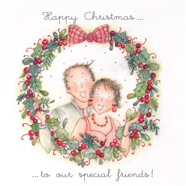 Christmas Card - To our Special friends! - Berni Parker
