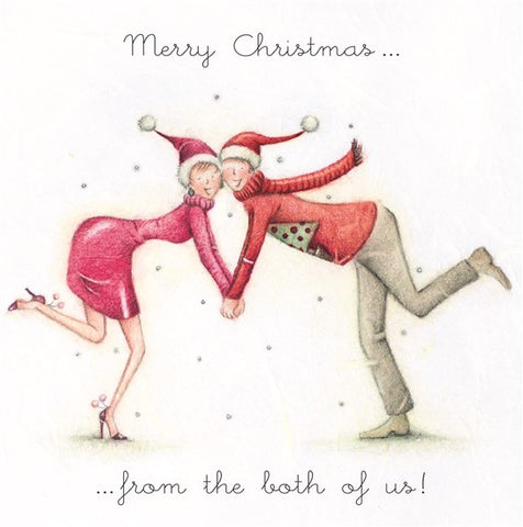 Christmas Card - From the both of us! - Berni Parker