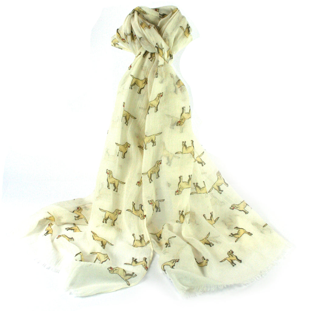 Labrador Scarf - Golden Dog Scarf