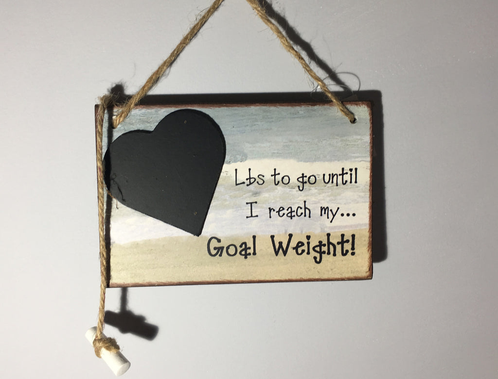 Goal Weight Countdown - Lbs to go until I Reach My Goal Weight!