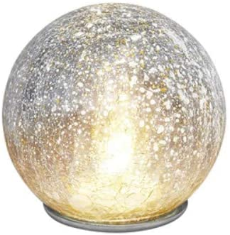 LED Light up Glass Dome Fireball Atmospheric Light