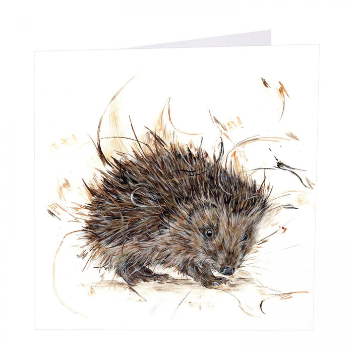 Hedgehog Card - Little Rascal - Art Beat