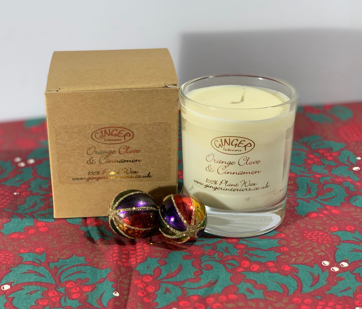 Scented Candle 20cl - Christmas - Orange Clove & Cinnamon