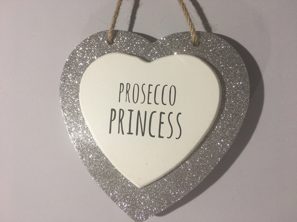 Sparkle Heart - Prosecco Princess