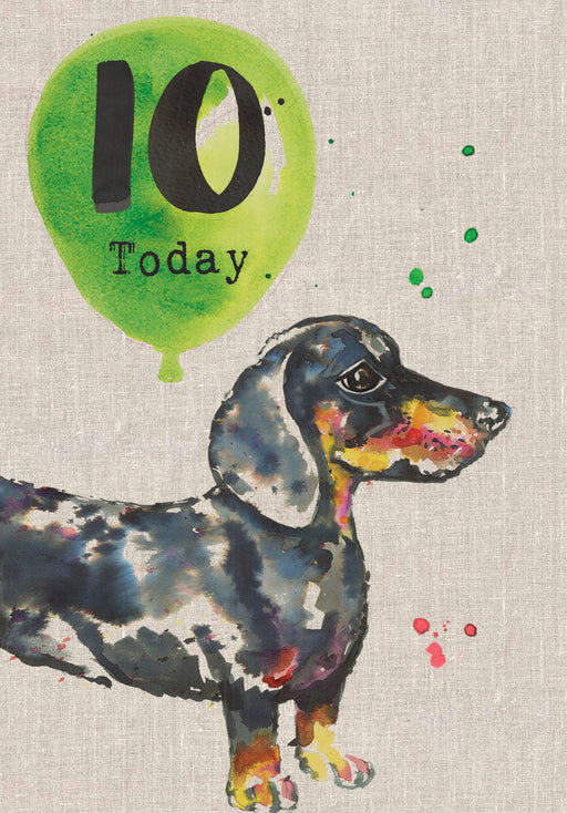 10 Today - Childrens Birthday Card - Sarah Kelleher