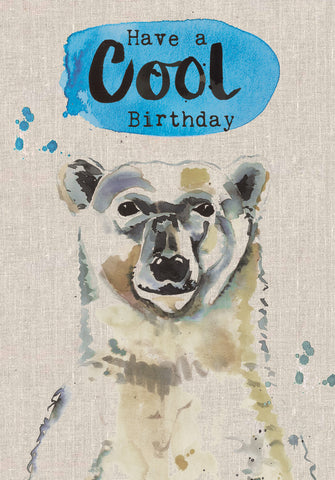 Have a Cool Birthday - Polar Bear - Sarah Kelleher