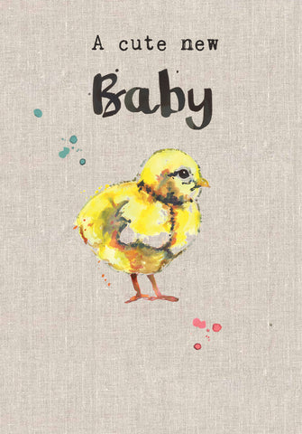 Cute New Baby Chick - Sarah Kelleher