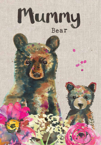 Mummy Birthday Card - Mummy Bear - Sarah Kelleher