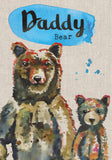 Daddy Birthday Card - Daddy Bear - Sarah Kelleher