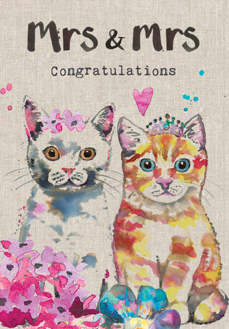 Wedding Card - Mrs & Mrs - Sarah Kelleher