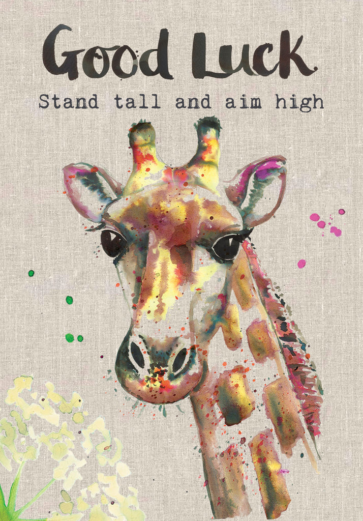 Good Luck Card - Giraffe - Sarah Kelleher