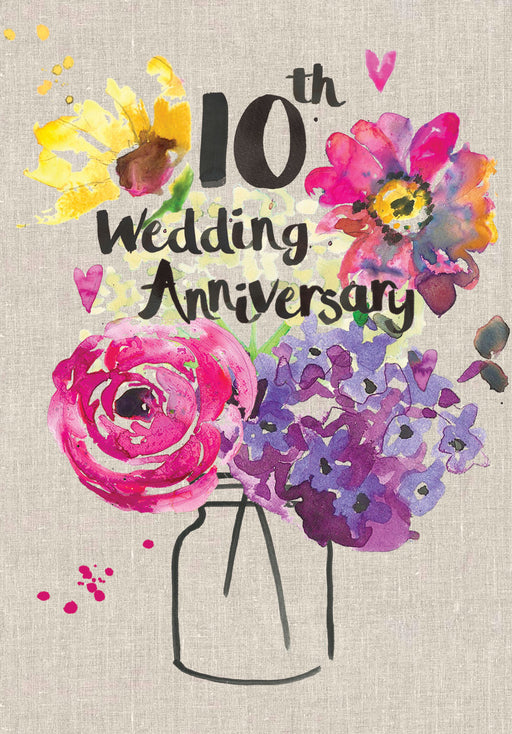 10th Wedding Anniversary - Sarah Kelleher
