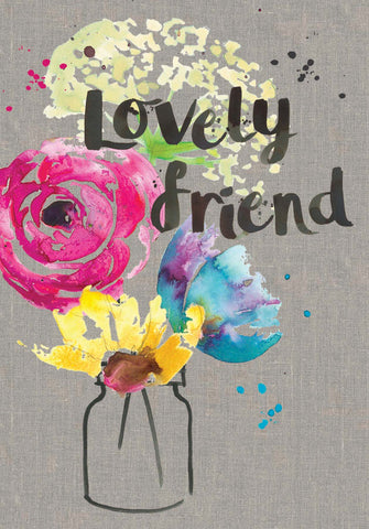 Lovely Friend Card - Sarah Kelleher
