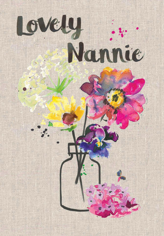 Lovely Nannie Card - Sarah Kelleher
