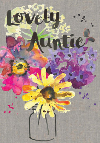 Lovely Auntie Card - Sarah Kelleher
