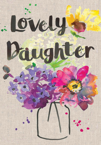 Lovely Daughter Card - Sarah Kelleher