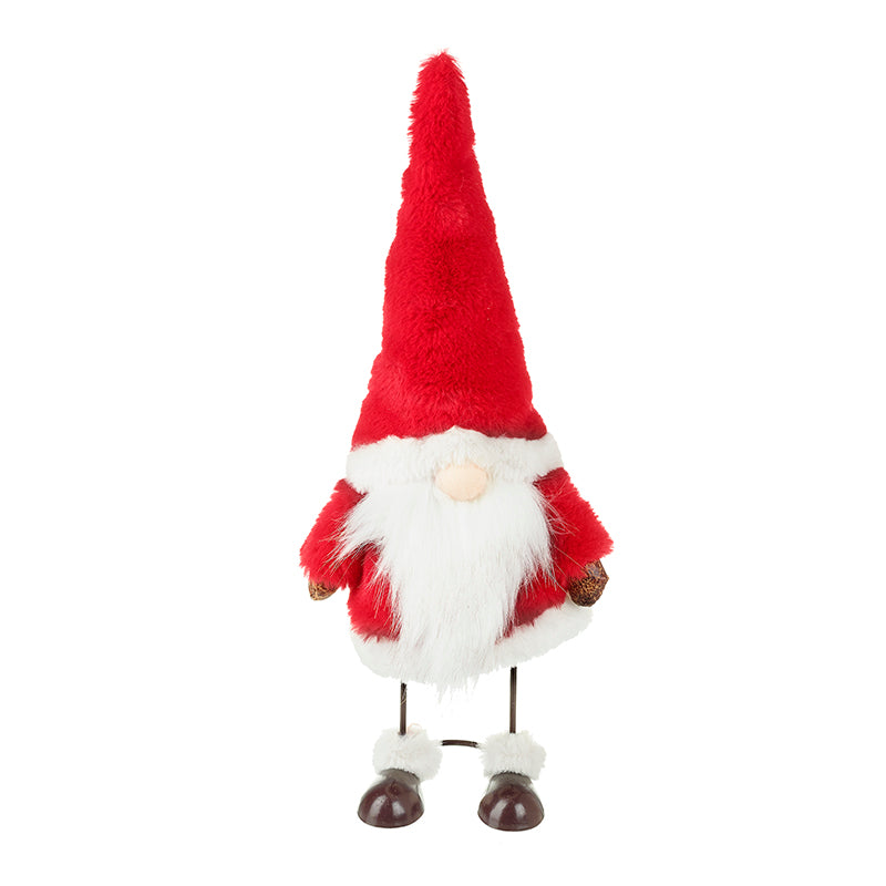 Jolly Dancing Santa Gonk - 30cm Standing Wobbly Christmas Gnome