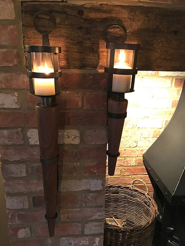 Medieval Wall Sconce - 60cm Torch Style