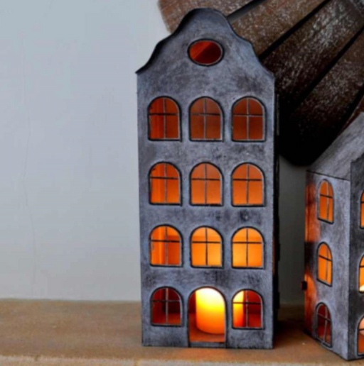 Dutch House Lantern - Two Sizes