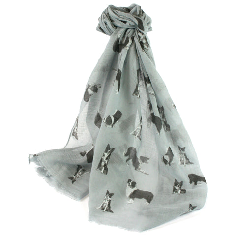 Sheepdog Scarf - Grey Dog Scarf