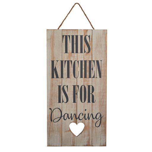 Kitchen Hanging Plaque - This Kitchen is for Dancing