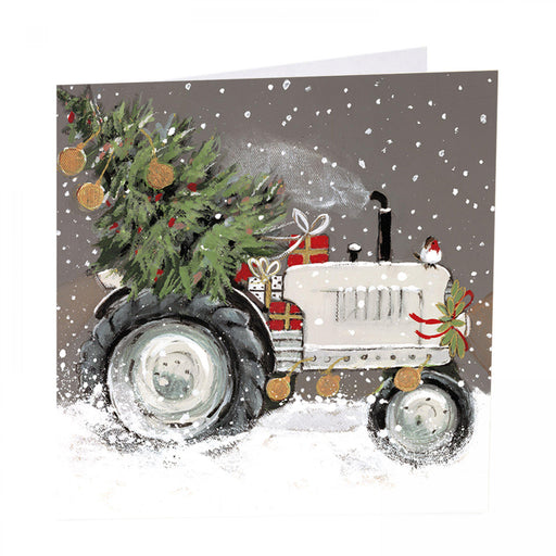 Tractor Christmas Cards - Special Delivery - Pack of 6