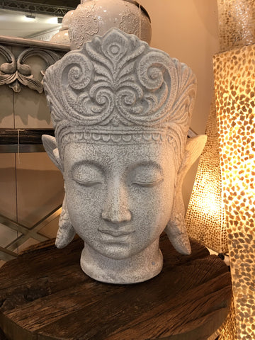 Large Thai Buddha Head - Wilde Java