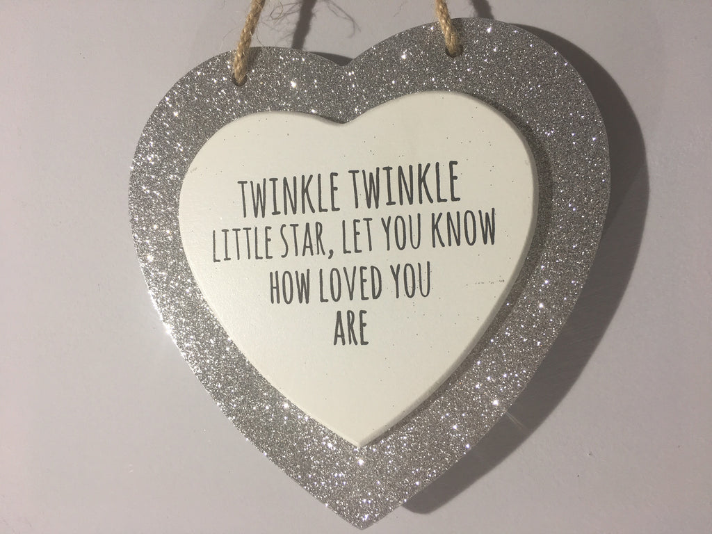 Sparkle Heart - Twinkle Twinkle Little Star, Let You Know How Loved You Are