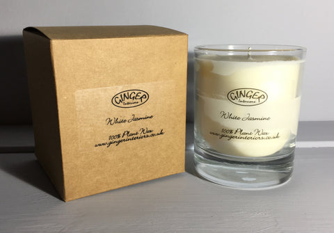 Scented Candle 30cl - Flowers - White Jasmine