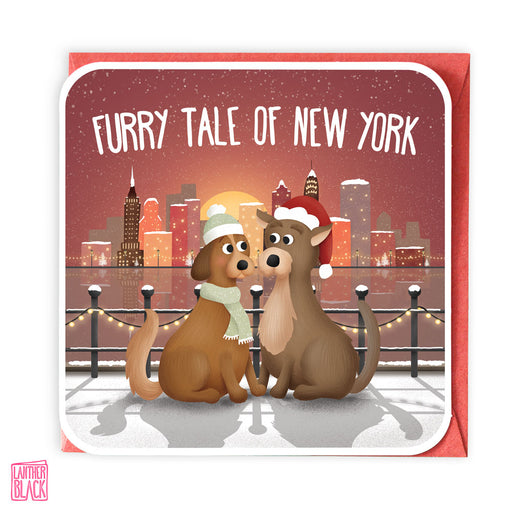 Fairy Tale of New York - Fun Christmas Card from Lanther Black