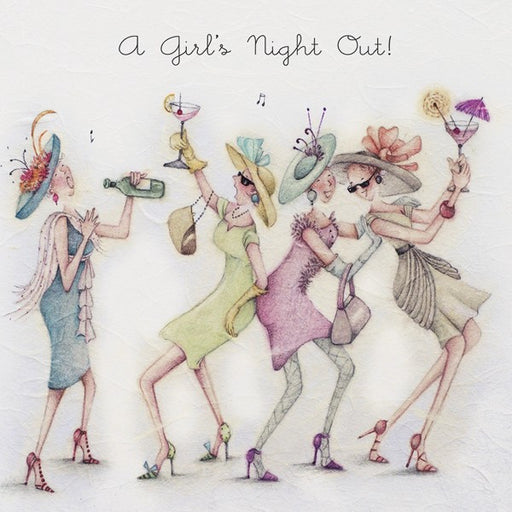 Greeting Card - A Girls Night Out !