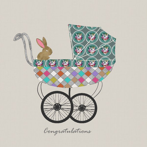 New Baby Card - Congratulations, From Sally Scaffardi Design