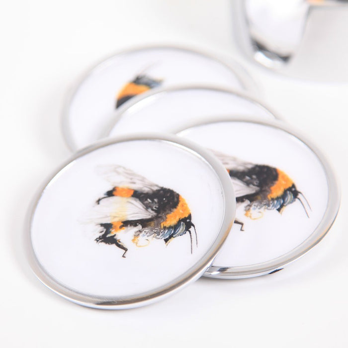 Bee Coasters set of 6 - Meg Hawkins