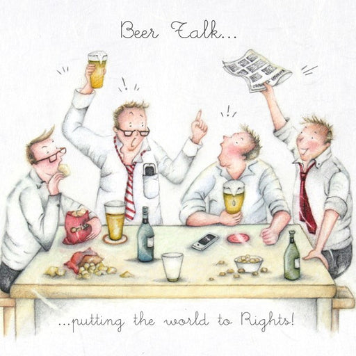Beer Card - Beer Talk, Putting the world to rights!  Berni Parker